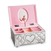 Custom Made Ballerina Music Box With Cheap Price Lenox Childhood Memories Ballerina Jewelry Music Box For Gift