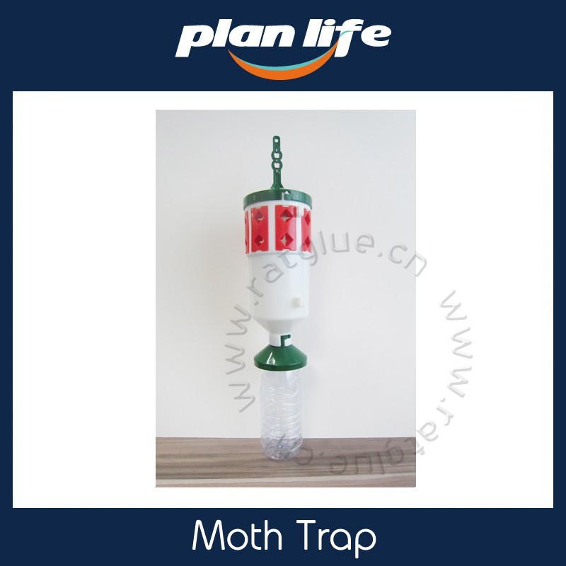 Plastic Moth Trap Contain Pheromone Lure Catch Moth
