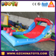 2017 small banzai inflatable mini water slide