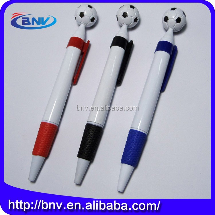 Hwan office use colorful plastic 1.0mm baseball pens
