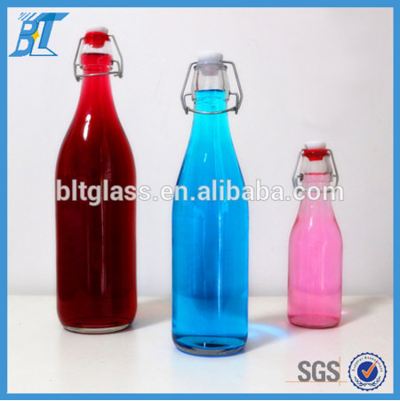 1000ml Glass Water Bottles With Locking Lids