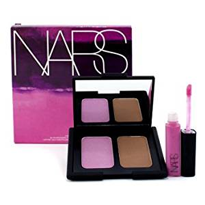 NARS Lose Yourself Blush/Bronzing Powder Duo & Lip Gloss Set (1xBlush/Bronzing Powder Duo 1xLip Gloss) 2pcs