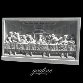 White Marble Carving Last Supper Sculpture For Sale Buy Last