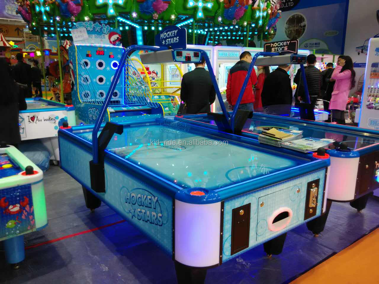 Indoor Arcade Amusement Game Machine Musical Air Hockey Table  Kids for Sale
