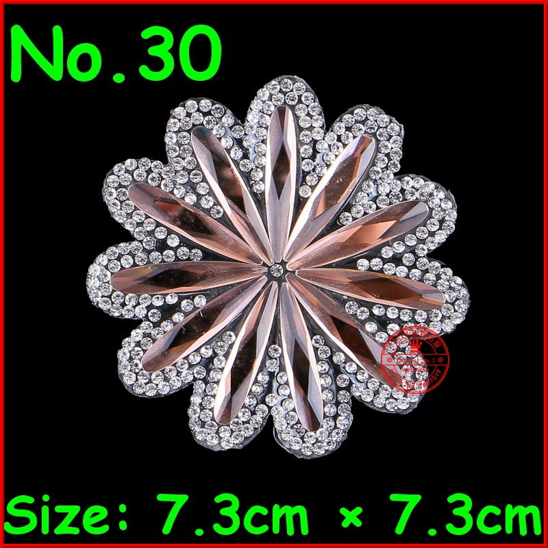 Detail Feedback Questions about 1 Pcs Flower Shine Patches Hotfix ... 9769d5cb85d3