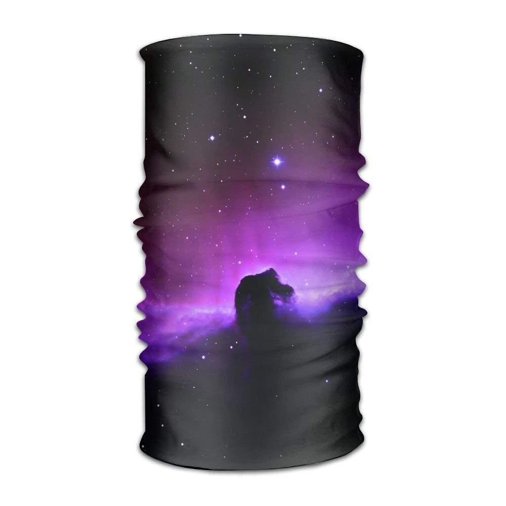 Nebula-wallpaper Unisex Fashion Quick-drying Microfiber Headdress Outdoor Magic Scarf Neck Neck Scarf Hooded Scarf Super Soft Handle