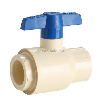 ERA CTS CPVC Plastic Water Supply Ball Valve Type II,ASTM D2846