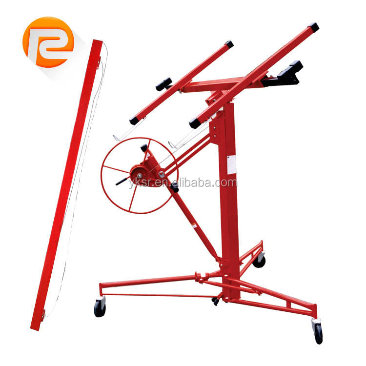 Hand Hoisting Machine Dry Wall tool plasterboard lifter gypsum board Lift 16' Drywall Panel Hoist