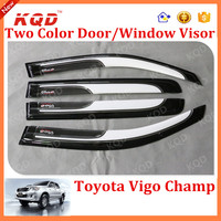 Factory Price Window Visor For Toyota Hilux Vigo Injection PC Window Visor Of Toyota Hilux Vigo 2012