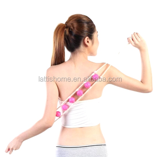 portable Handheld Full Body Anti Cellulite Massage Roller Neck Leg Arm Back Muscle Relax Roll Massager