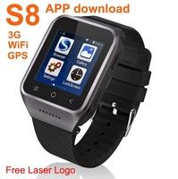 High sensitive capacitive touch screen best runner gps watch