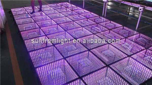 Innovatived 3d Infinity Mirror Led Rgb Dance Floor - Buy Rgb Dance ...