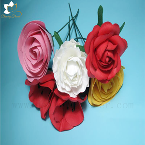Wedding Decorative Backdrop hand works paper flowers with high quality