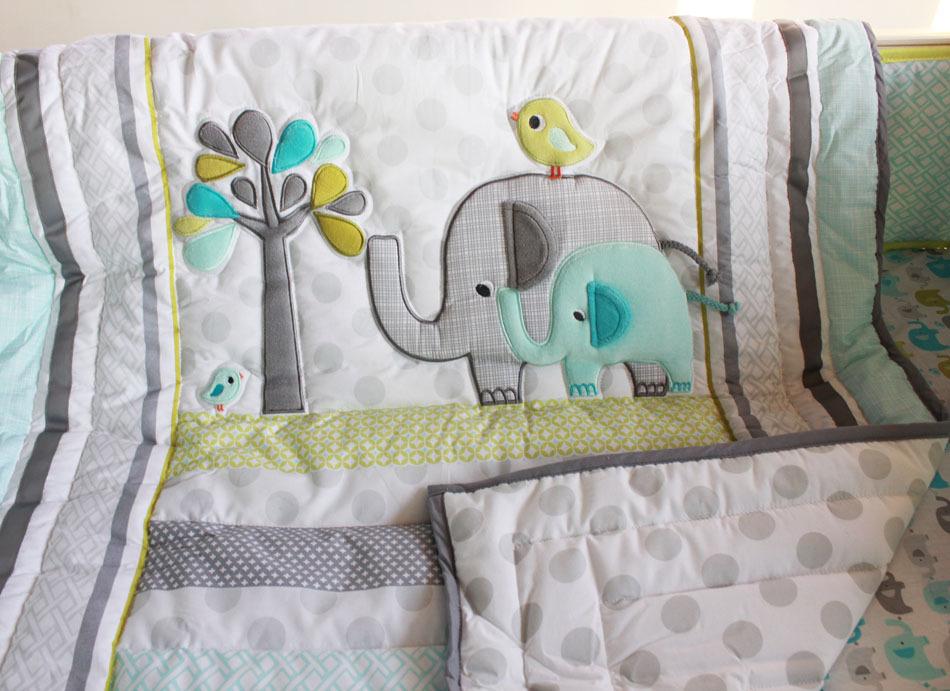 Online Get Cheap Elephant Baby Bedding Aliexpress Com