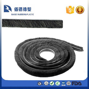 Door Window Frame Draught Excluder Brush Pile Seal Weather Strip