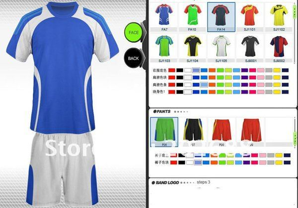 custom soccer jersey builder - Pairs and Spares b3c601f2a6fd