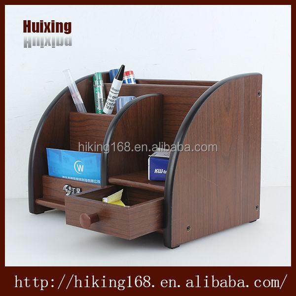 Material de madera natural escritorio portal pices caj n - Organizador cajon oficina ...