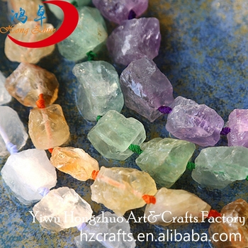 Necklace crystal point Chakra pendant jewelry color gemstone