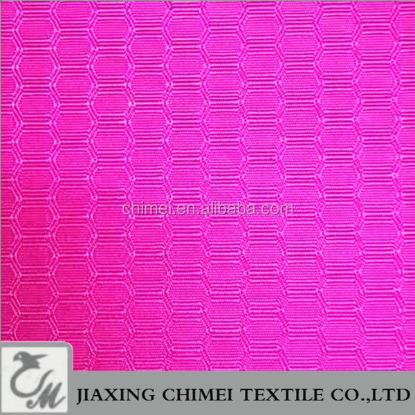 China supplier dobby 420D pu coated polyester fabric