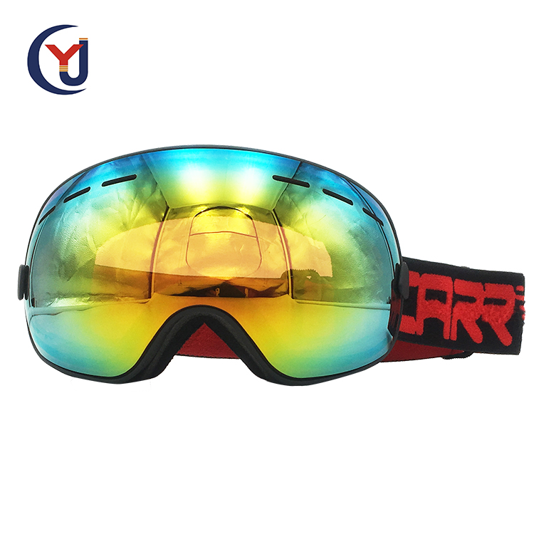 wholesale custom best big spherical double lens polarized snow boarding ski googles