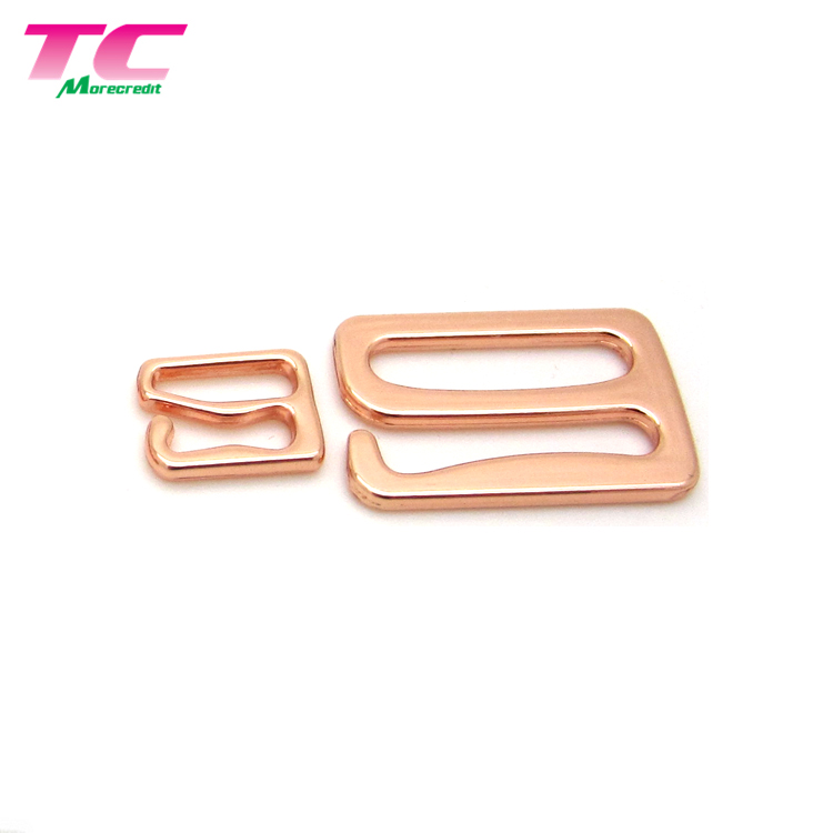 Alibaba.com / Rose Gold Bikini Accessories Metal Adjuster Strap Buckle Swimwear Hardware