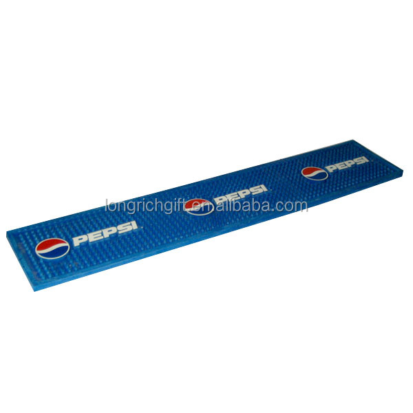 custom soft pvc rubber bar mat for bar