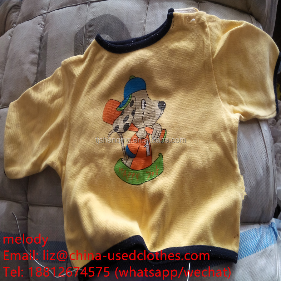 used clothes/used children T-shirt