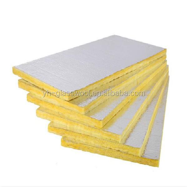 Aislamiento placa de lana de fibra de vidrio para aire for Glass fiber board insulation