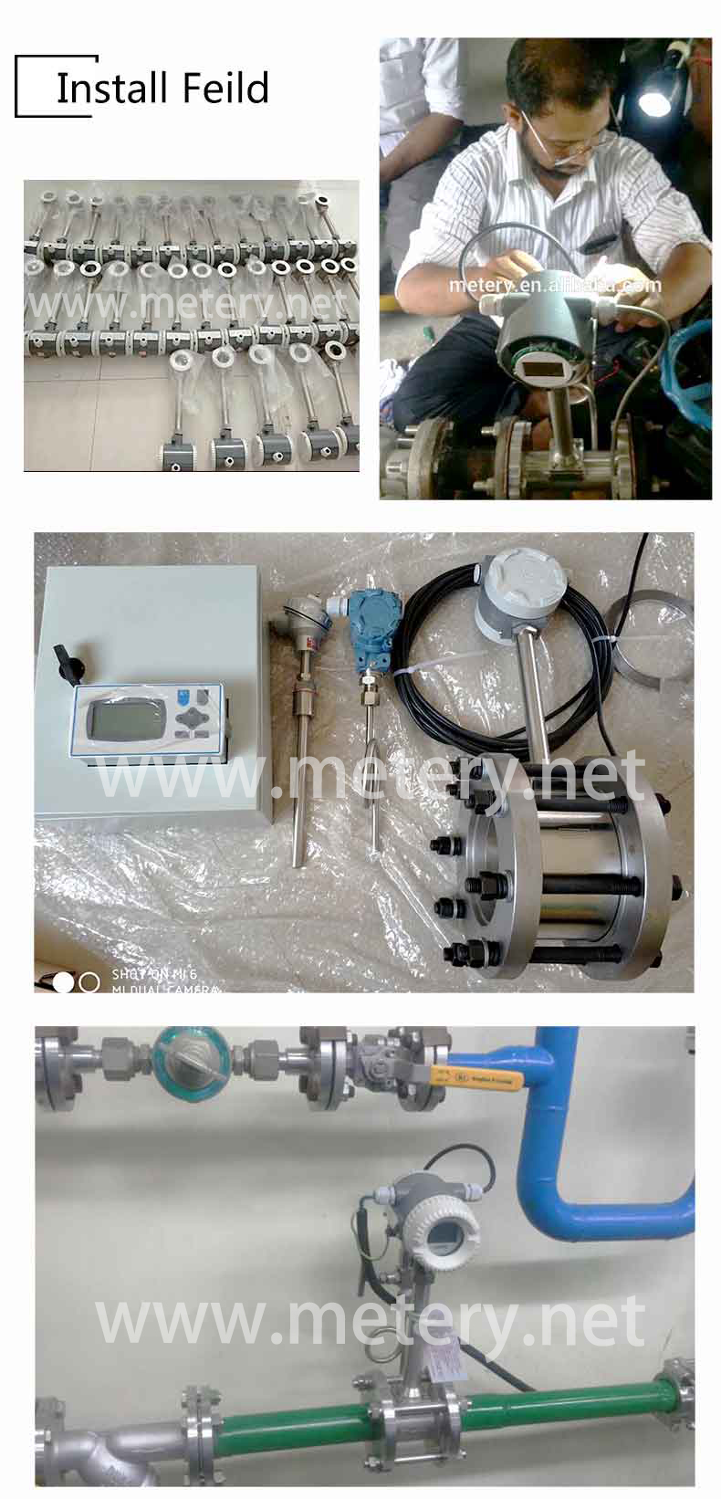 air flow totalizer meter/flow meter totalizer