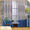 Made in China fashion printed blackout woven curtain design for hall