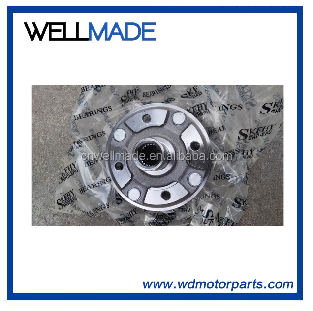 Front Wheel Brake Disc Rim Hub Fit For China Atv 110cc 125cc 150cc 200cc 250cc Quad Bike Scooter Parts Great Varieties Atv Parts & Accessories