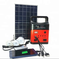 Lithium battery solar light with MP3 FM radio palyer camping solar kit portable solar system
