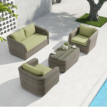 Sectional Design Baru <span class=keywords><strong>Taman</strong></span> Modular Anyaman Rotan Furnitur Modern <span class=keywords><strong>Sofa</strong></span> <span class=keywords><strong>Set</strong></span>