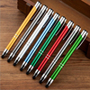JR1008 Cheap High Quality Popular Colorful Stylus Metal Ball Pen For Advertising