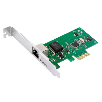 DIEWU best price Intel 82574 PCI-Express x1 10/100/1000Mbps Network Card