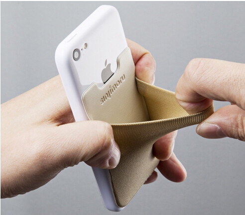 Stick On Credit Card Holder For Iphone