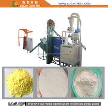 Small 500kg/hour corn/wheat/rice/beans flour mill