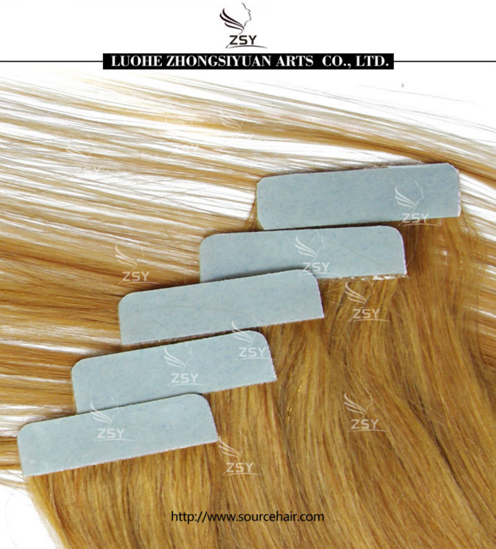 2017 wholesale 7A virgin indian remy tape hair extensions