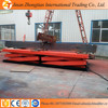 2ton goods lift table, heavy goods scissor lift, electric powered hydraulic lift platform