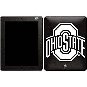 Ohio State University iPad Skin - OSU Ohio State Black Vinyl Decal Skin For Your iPad