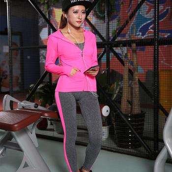 60ac707e5a18e Women Sports Yoga Pants calzas deportivas mujer Tights Female Sport  pantalones Fitness Running Trousers Slim 7