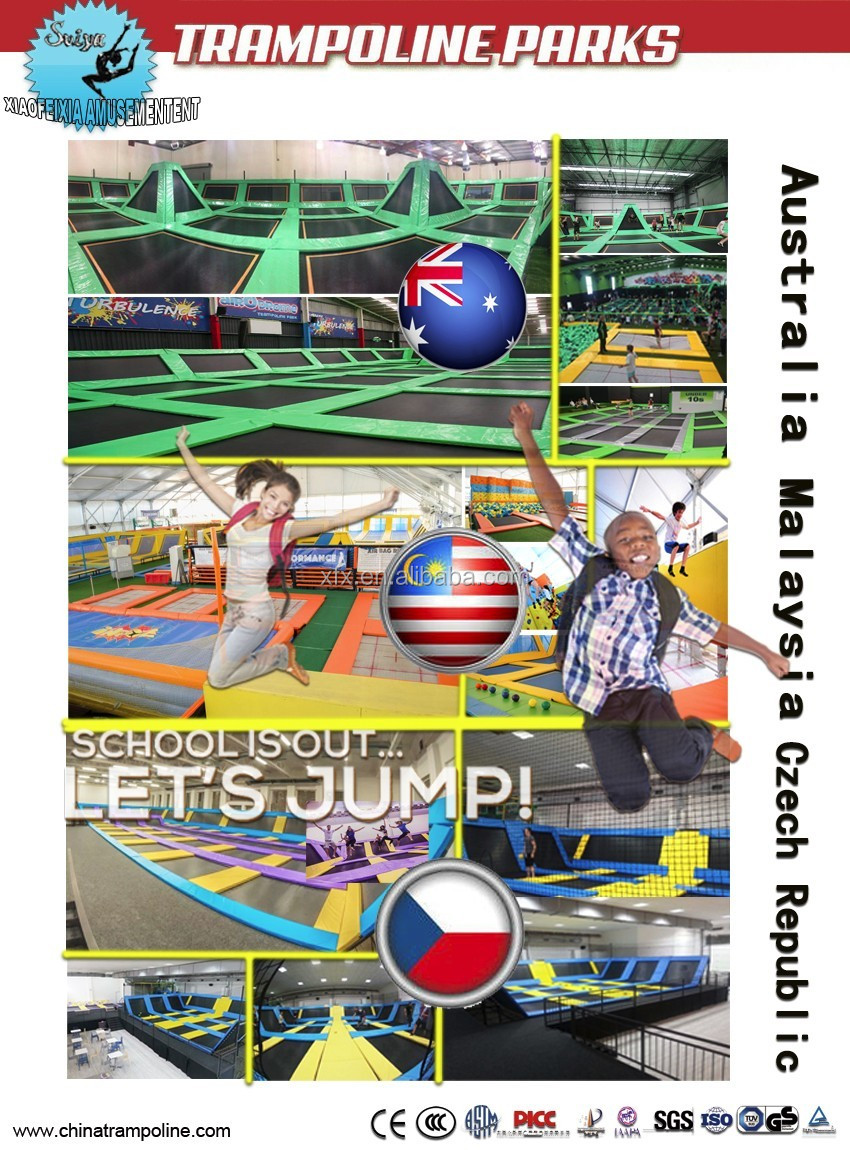 Euro Standard Jumping Trampoline With Slam Dunk And
