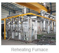 Custom induction hot forging heater for bolts heat treatment machine