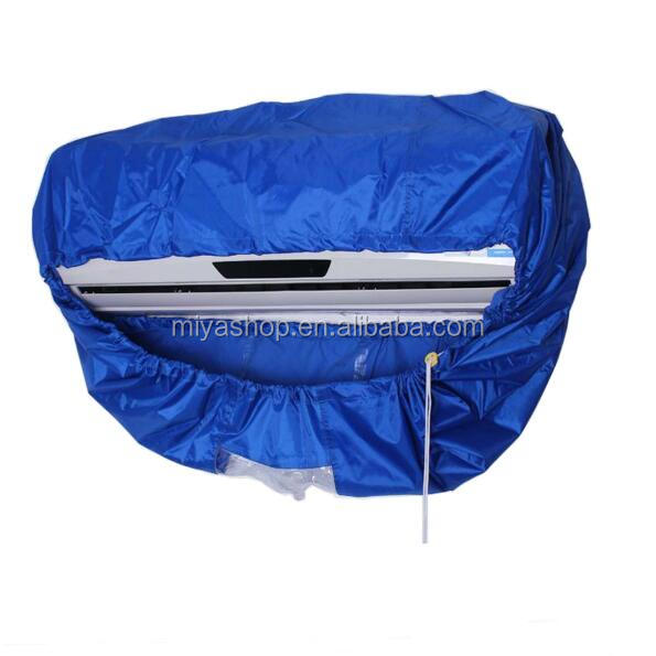 Waterproof cleaning covers for air conditioner / Shockproof plastic Large Air conditioner cleaning cover bags