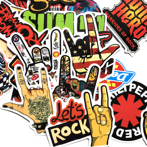 6e9c59598 Rock And Roll Stickers, Rock And Roll Stickers Suppliers and Manufacturers  at Alibaba.com