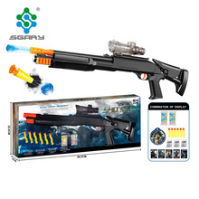 New arrival Cobra plastic bifunctional water bombs and soft EVA foam bullets toy guns for boys