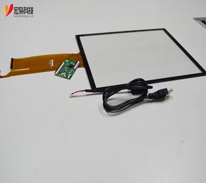 USB/IIC Customized Smart 12.1 Inch Sensitive Capacitive Touch Screen Panel with Glass+Glass ILITEK IC