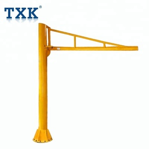Maximum safety 3 ton jib crane/ low price 360 degree slewing jib crane/ crane jib