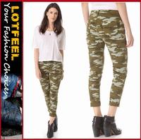 Battlefield Bold camouflage women Skinny Jeans (LOTX306)