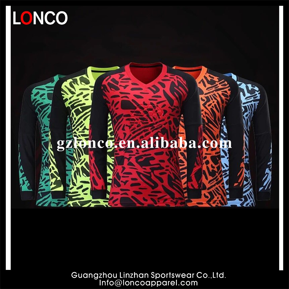 2e585a59f6f20 Diseño de encargo al por mayor Jersey portero jersey de fútbol conjunto uniforme  uniformes ...